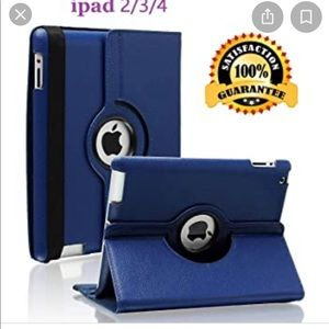 iPad 2/3/4 Case - 360 Degree Rotating Stand